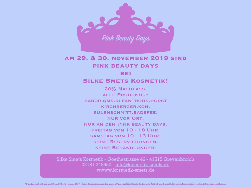 Kosmetik Grevenbroich Pink Friday Sale Black Kosmetik Smets