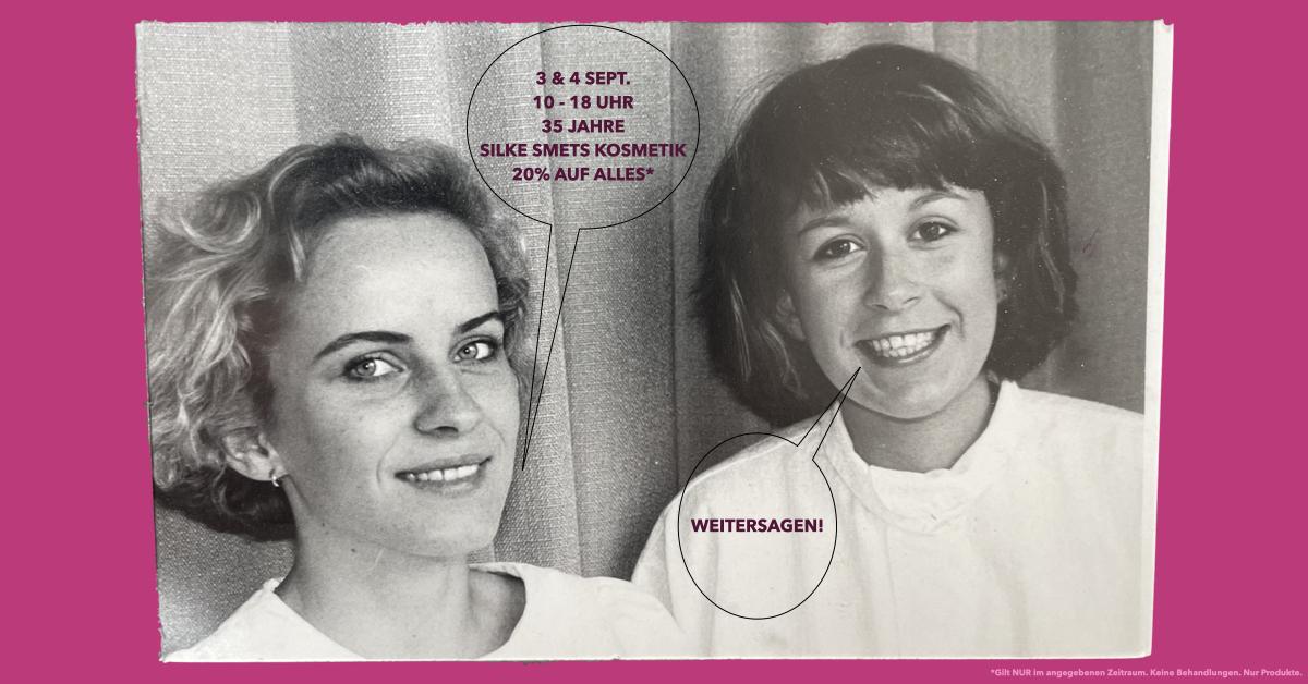 35Jahre Silke Smets Kosmetik Grevenbroich
